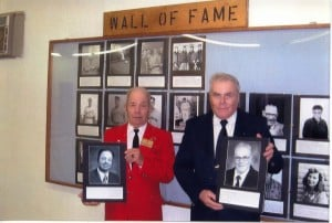 2009 Wall of Fame Inductees - Tom Webb & Ewart Hone