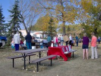 Pangman Farmers Market September 29, 2012
