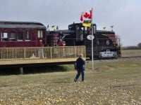 Tour Train, Pangman, SK, September 29, 2012