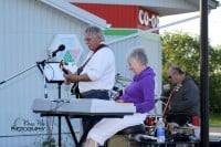 JudyK Trio playing on Canada Day